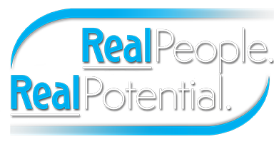 Real People. Real Potential. logo