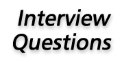 Interview questions button