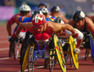 Photo of wheelchair racers