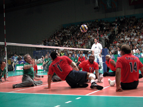 Sydney Paralympics Sitting Volleyball